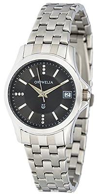 ORPHELIA de mujer reloj de pulsera Galaxy analógico de cuarzo Acero inoxidable