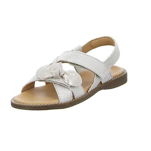 Froddo Kinder Sandale G3150133-2 Mädchen Festliche Ledersandalette mit Glitzer-Effekt (Gold) Größe 35 EU