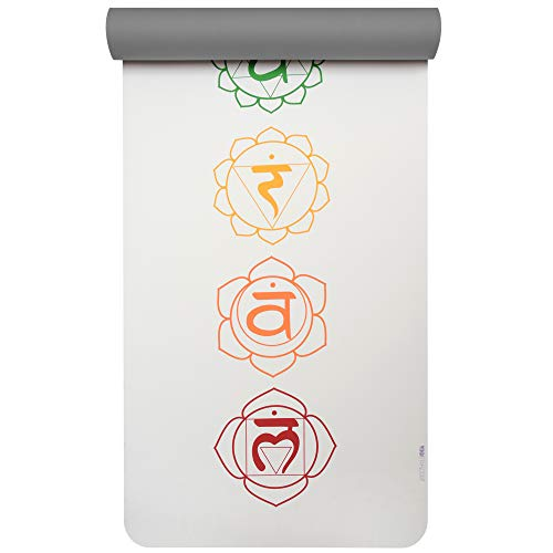 Yogistar pro Art Collection Yogamatte, Chakra Snow/Graphite, One Size