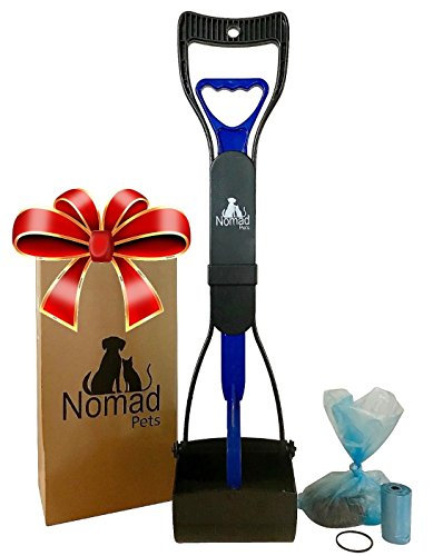 Complete Pooper Scooper Gift Set for Dogs with Large Poop Bags...