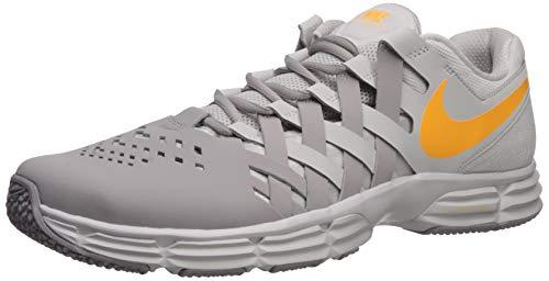 Nike Lunar Fingertrap Trainer, Zapatillas Deportivas. para Hombre, Vast Grey Laser Orange Ambiente Gris, 48 EU