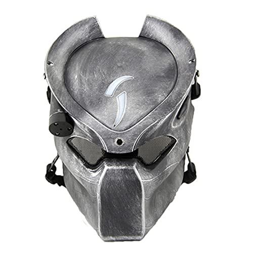 Resin Predator Wolf Mask for Halloween Party Character Costume Cosplay (G - Predator)