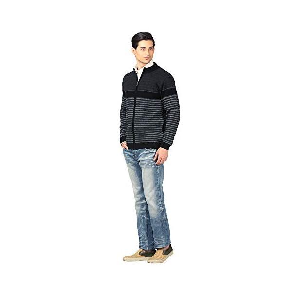 aarbee Men's Wool Round Neck Sweater 3 41NNgoUtzuL. SL500