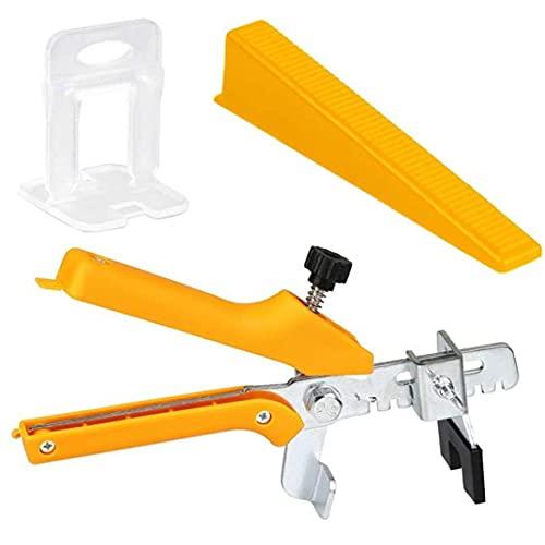 Baldosas de nivelación Alicates Cuña Espaciador clips de 2 mm ajustable pared de la baldosa del sistema de herramienta de la herramienta de instalación