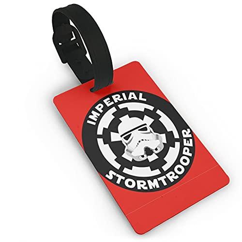 Etiquetas de identificación para equipaje Stạr_Wạrs Stormtrooper perfectas para fiestas y viajes equipaje etiquetas de PVC