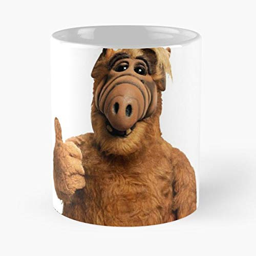 Tv Cool Hipster Moderno Movie Serie Cult Alf Culto Best 11 oz Kaffeebecher - Nespresso Tassen Kaffee Motive