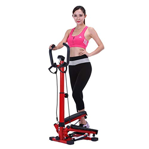 Review Step Machines Fitness Stepper Mute Home Weight Loss Machine Swing armrest Stepper Slim Body T...