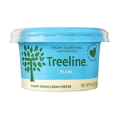 Treeline Vegan Cheese, Cream Cheese Cashew Plain, 8 Ounce