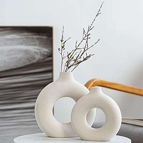 Jarrones Ceramica Blancos jarrones ceramica  Marca Pevfeciy