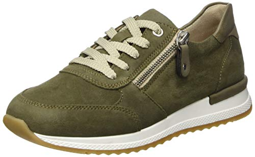 Remonte Damen R7010 Sneaker, Grün (Olive/Olive 54), 39 EU