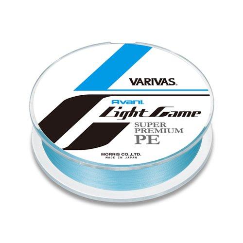 モーリス(MORRIS) PEライン バリバス アバニ ライトゲーム 100m 0.2号 MAX5.5lb ナチュラルブルー