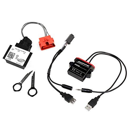 Kufatec 41422 Bluetooth-adapter voor het streamen van muziek voor Audi met MMi 3G (vanaf 2011)