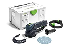 Three tools in one for coarse sanding, fine sanding, and polishing Eccentric motion for high-quality, scratch-free surfaces Sanding up to the edge thanks to the Festool protector Rotex rotary motion for efficient material removal