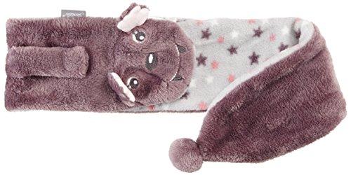 Sterntaler Sterntaler Baby-Mädchen Söckchen 3er-Pack Dinos Schal, Violett (aubergine 607), S (Herstellergröße: 70)