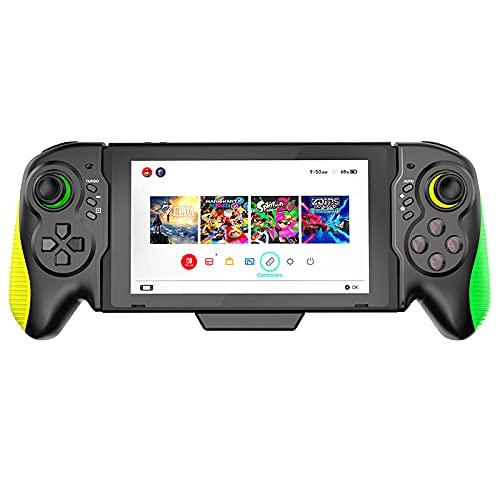 KOPOU Consola de Control de Joystick Inalámbrico para Juegos Agarre de Gamepad en Línea Plug And Play Joystick Bluetooth para Gamepad con Sensor de Gravedad Giroscopio de 6 Ejes