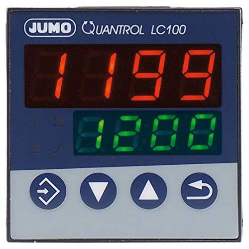 Jumo 605304 temperatuurregelaar L, J, T, K, E, N, S, R, Pt100, Pt1000, KTY Relais 3 A (B x H) 48 mm x 48 mm