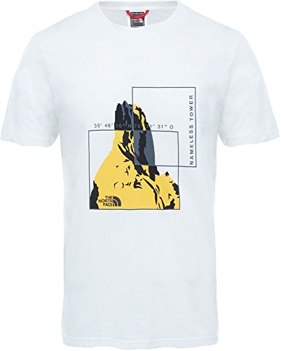 The North Face M S/S Flash tee - Camiseta, Hombre, Blanco, XL