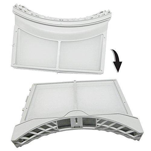 Spares2go con cepillo Filtro de pelusas jaula puerta exterior para LG secadora