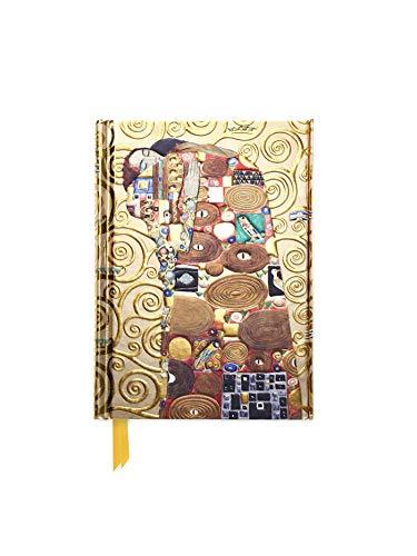 Premium Notizbuch DIN A6: Gustav Klimt, Die Erfüllung: Unser hochwertiges, liniertes Blankbook mit festem, künstlerisch geprägtem Einband und ... DIN A 6 mit Magnetverschluss, Band 1)