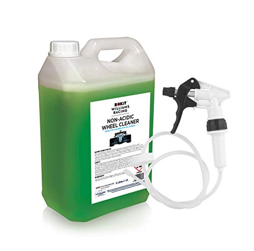 Williams Racing 5L Heavy Duty Non-Acidic Wheel Cleaner with Long Hose Trigger