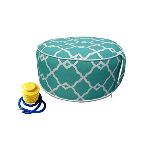 Inflatable Ottoman footrest Stool