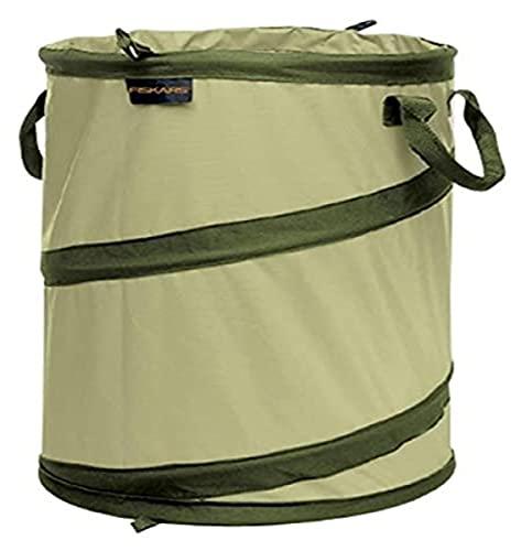 Fiskars 30 Gallon HardShell Bottom Kangaroo Garden Bag