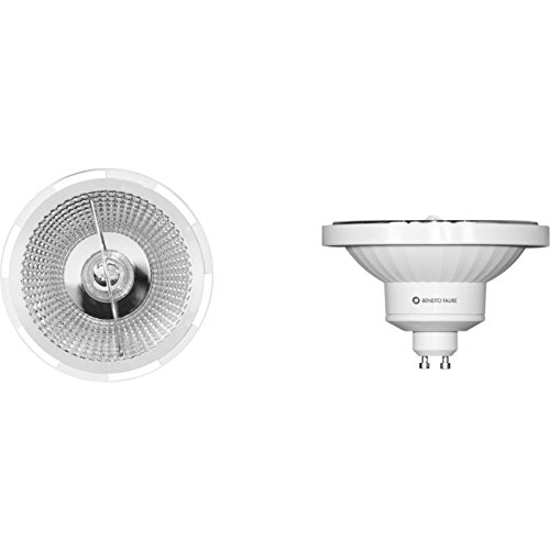 AR111LED GU10Bombilla 13W 230V 45° 2700K luz cálida reflector QR111regulable