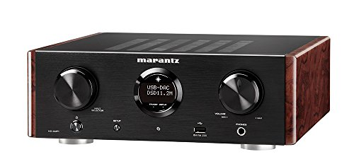 Marantz HD-AMP1 - Stereo Integrated Amplifier with Built-in DAC Premium Sound Quality Dual Analog Input Dedicated Headphone Amplifier MusicLink Space Saver Design