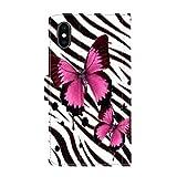 FAUNOW Funda tipo cartera para iPhone X/10/Xs, diseño de cebra, color negro, con función atril, ranuras para tarjetas y protección para iPhone X/10/Xs