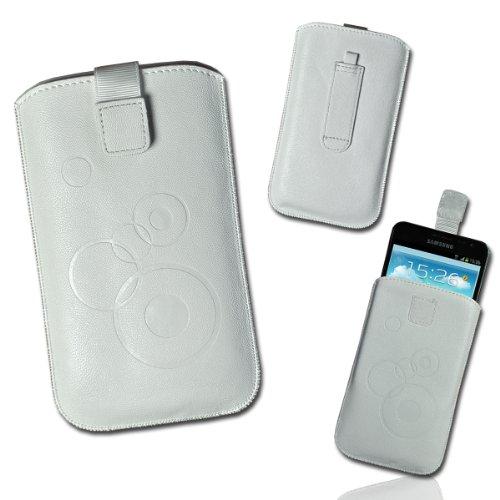 Funda de bolsillo con tapa de diseño blanco círculocity γr, 3 para...