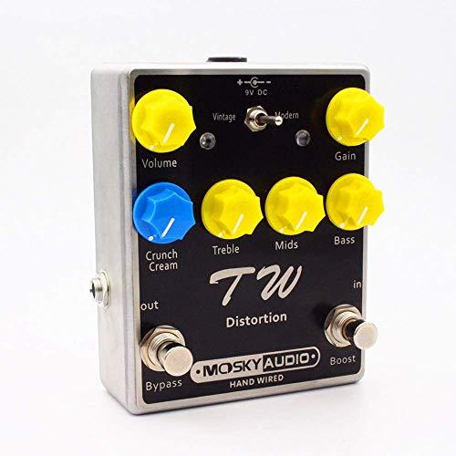 Sweet Distortion-Gitarren-Effekt-Pedal Kondensator Widerstand IC 3-Band-Equalizer Gitarren-Effekt-Gitarren-Zubehör