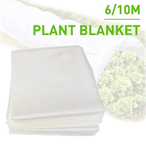 RecoverLOVE Gartenpflanzen-Abdeckungen Frostschutzdecke, Wiederverwendbare Winterstrauch-Frostschutzabdeckung, schwimmende Reihenabdeckung aus hochbeständigem Stoff für kaltes Wetter