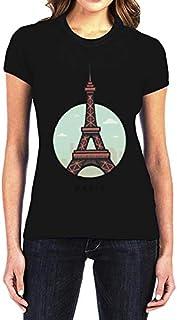 IngraveIT Cotton Round Neck T-Shirt For Women