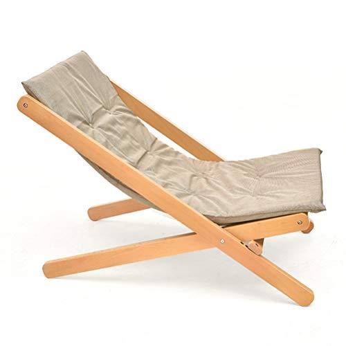 YQ WHJB Patio Tumbona Reclinable,Ajustable Resistente Tumbona Plegable Asientos Acolchados,al Aire Libre Césped Silla De Silla E