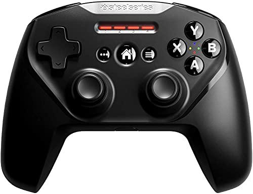 SteelSeries Nimbus+, Contrôleur Gaming sans Fil, Rechargeable, pour iPhone, iPad, iPod et Apple TV