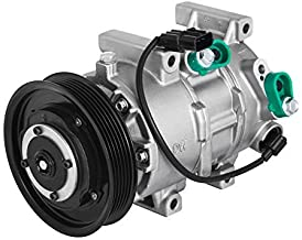 Mophorn CO 20765C 977011R100 Universal Air Conditioner A/C Compressor and Clutch for Hyundai Accent Kia Rio 1.6L 177324 178324 977011W600