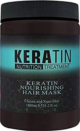 Fashion look KERATIN NOURISHING HAIR MASK 1000 ML | For Fexible Hair | For Strong hair | For Manageable Hair