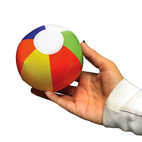 "Beach Balls - 6"" Multi - Color, 12 Pack"
