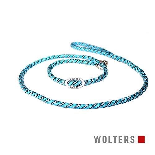 Wolters | Moxonleine Everest reflektierend aqua/schwarz | L 180 x B 1,3 cm