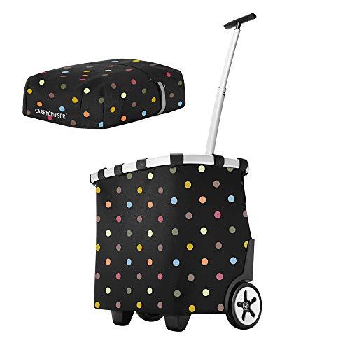 reisenthel carrycruiser dots 40 Liter Einkaufstrolley Promo inkl. Cover dots