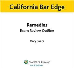 California Bar Edge: California Remedies Exam Review Outline for the Bar Exam