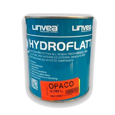LINVEA HYDROFLATT OPACO |Finitura Protettiva all'acqua Opaca, Trasparente, tipo Flatting, per Interni ed Esterni, (0,750 Litri) IAIA distribuzione