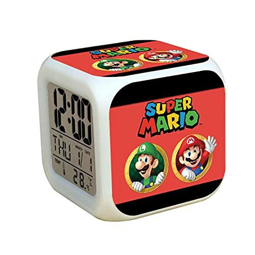 Reloj Super Mario Super Mario Watch Super Mario Boy Watch + cartera de dibujos animados Anime estudiante niños Set