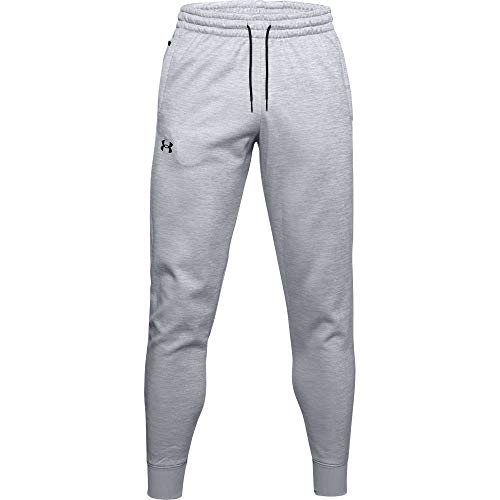 Under Armour Men's Armour Fleece Joggers , Mod Gray (011)/Black ,...