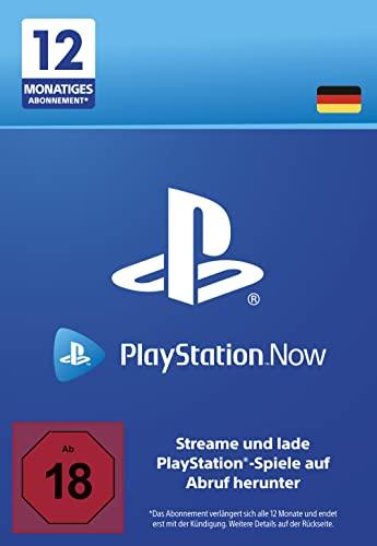 PlayStation Now - Abonnement 12 Monate (deutsches Konto)   PS5/PS4/PS3 Download Code - deutsches Konto