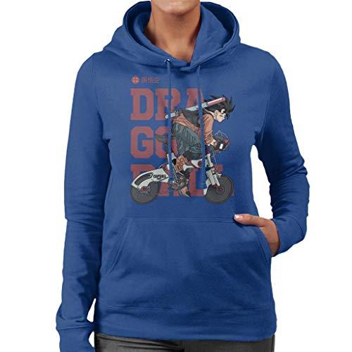 Cloud City 7 Goku Capsule Corp Bike Dragon Ball Z Women's Hooded Sweatshirt