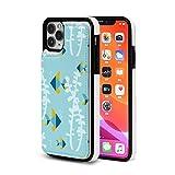 Sula-Lit Tangram Fish - Funda protectora para iPhone 11 Pro Max (piel, tarjetero, compatible con iPhone 11 Pro Max (6,5 pulgadas)