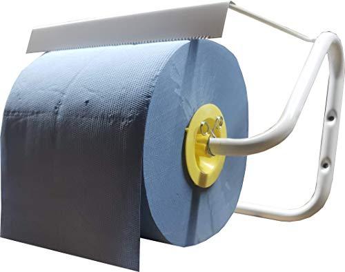 Preisvergleich Produktbild Ludwiglacke Wandhalter in Weiss Abroller für Putzpapier