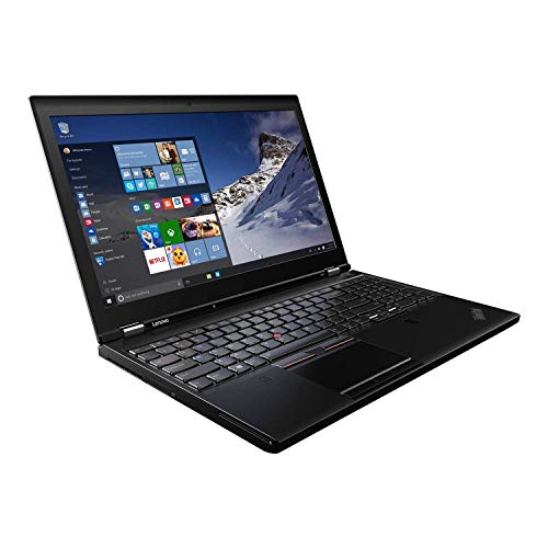 Lenovo ThinkPad P51 15.6' Screen i7-6500u CPU 16GB RAM 256GB SSD Windows 10 Pro (Renewed)