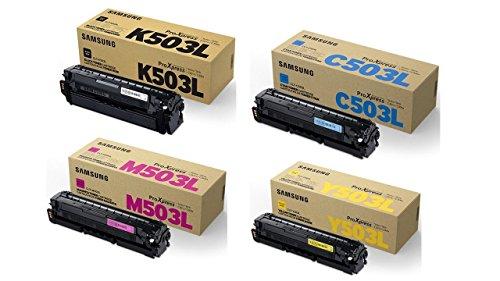 Pack toner original Samsung K503L / C503L / M503L / Y503L